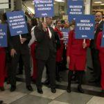 Funcionários da Avianca paralisam atividades no Aeroporto de Congonhas