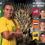 Copa do Mundo feminina: as candidatas ao trono da rainha Marta