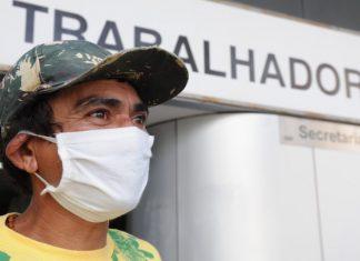 Francisco dos Santos, maranhense, foi encaminhado pela agência do trabalhador para uma vaga de assistente de pinto.